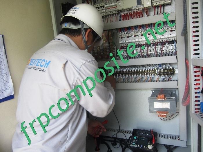 Kiểm tra hệ thống điện xử lý nước thải