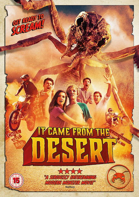 IT CAME FROM THE DESERT dvd
