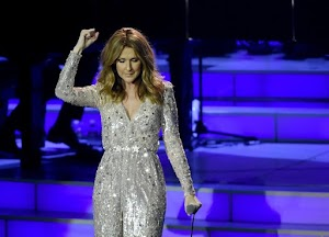 Céline Dion back onstage in Las Vegas after a hiatus in the career