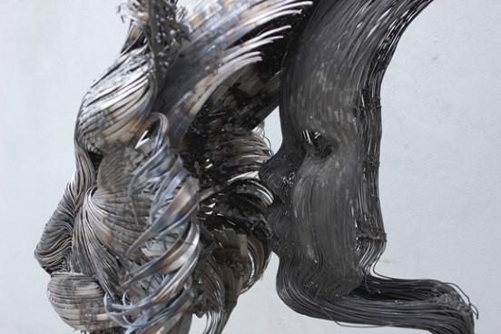 Çelik Dövme ile Yapılan Hayvan Heykelleri