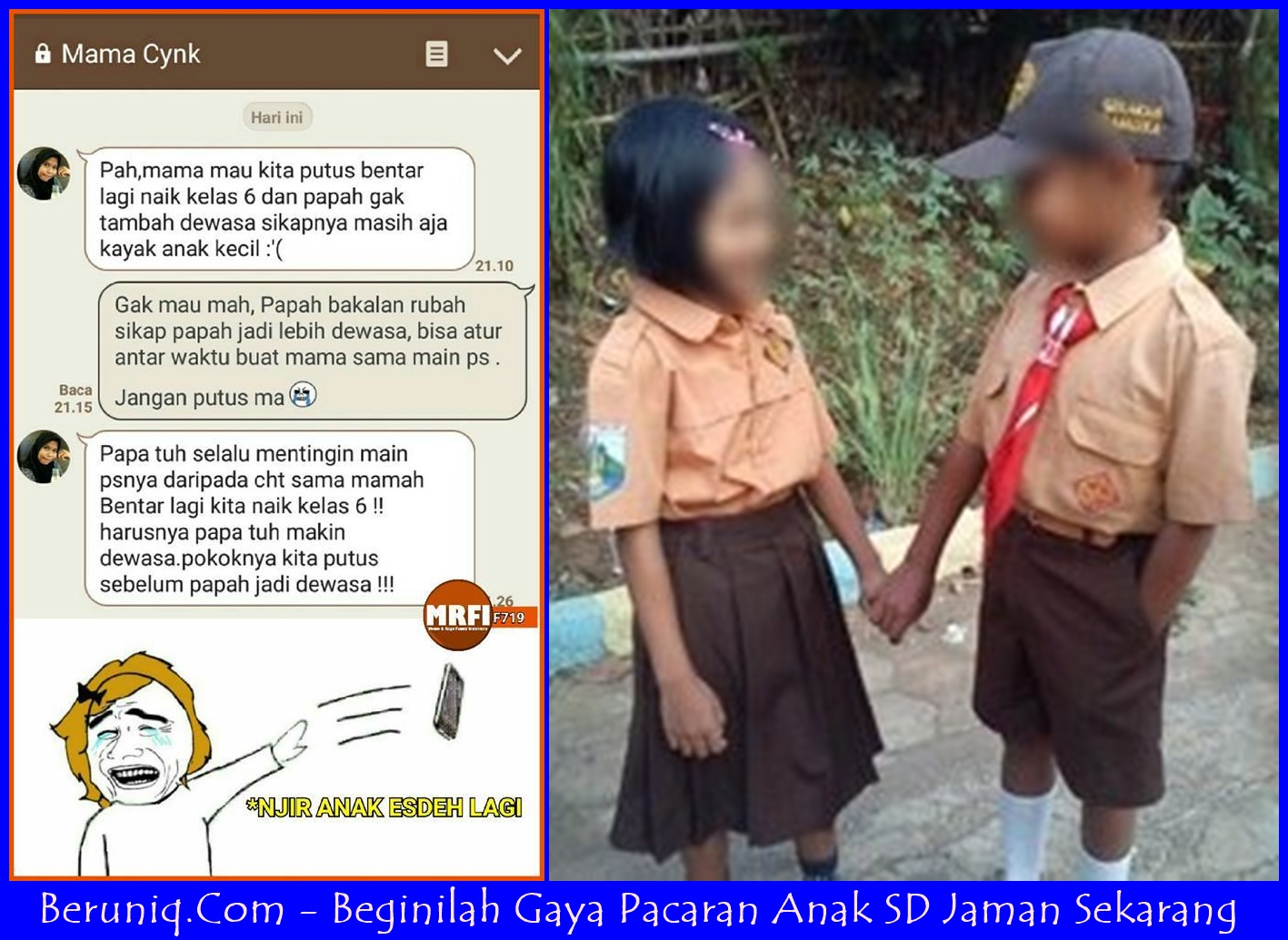 Gambar Chat Pacar Yg Lucu  Aliansi kartun