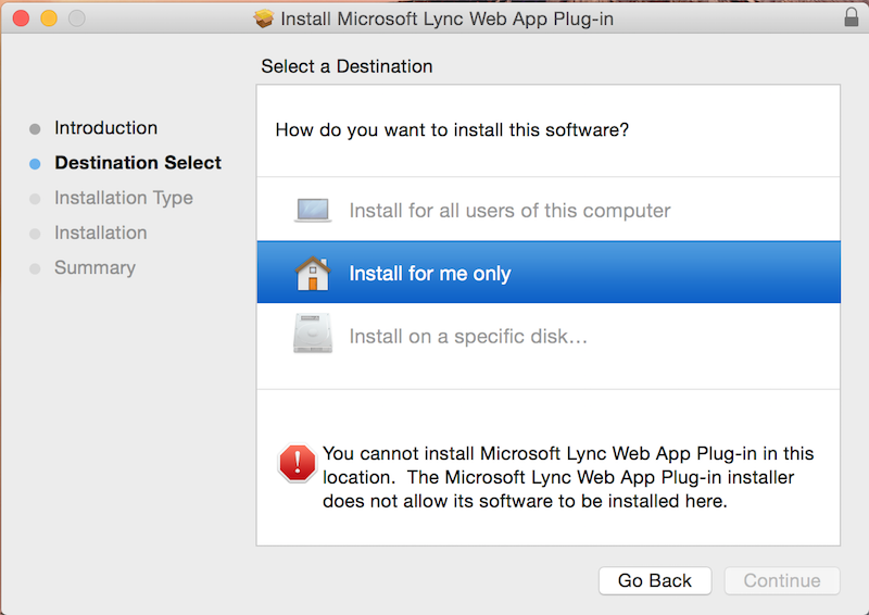 OSX TODAY: Lync Web Plug-in for OSX