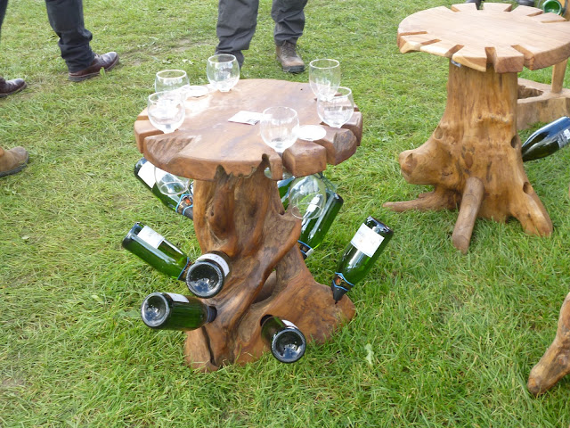 wine tables wooden for garden