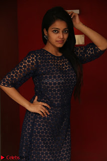 Dazzling Janani Iyer New pics in blue transparent dress spicy Pics 021.jpg