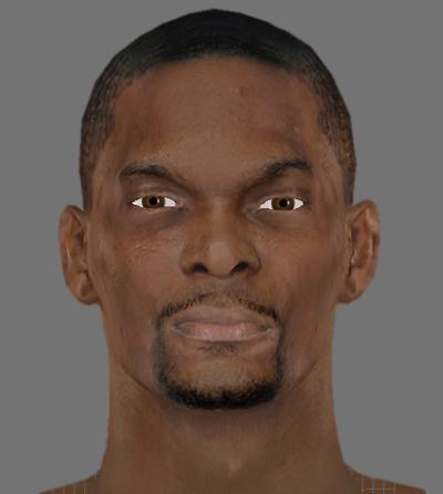 NBA 2K13 Chris Bosh Cyber Face Mod v1 - NBA2K.ORG