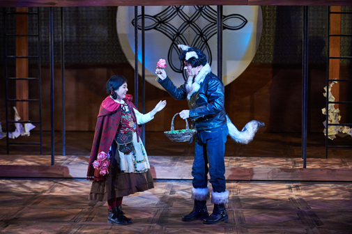 Shelli Delgado & Googie Uterhardt | Into the Woods | Aurora Theatre | Photo by Chris Bartelski
