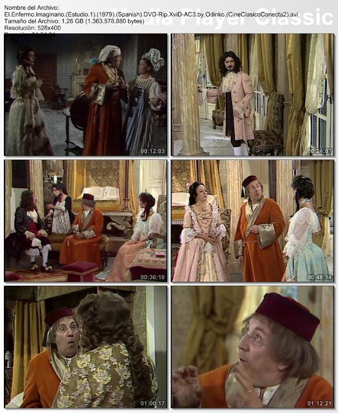 El enfermo imaginario 1979 | (Gran teatro Estudio 1)