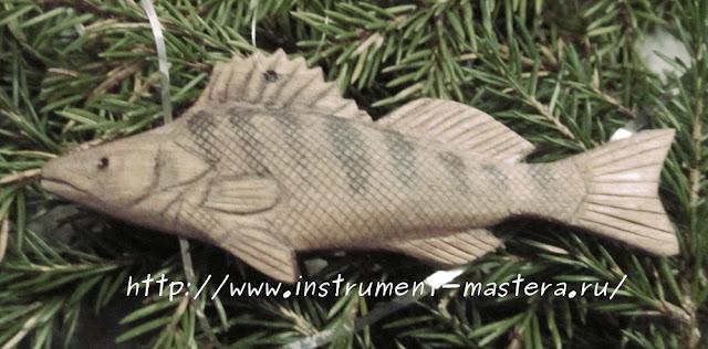 деревянная игрушка для ёлки