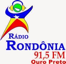 Rádio Rondônia FM de Ouro Preto do Oeste RO ao vivo