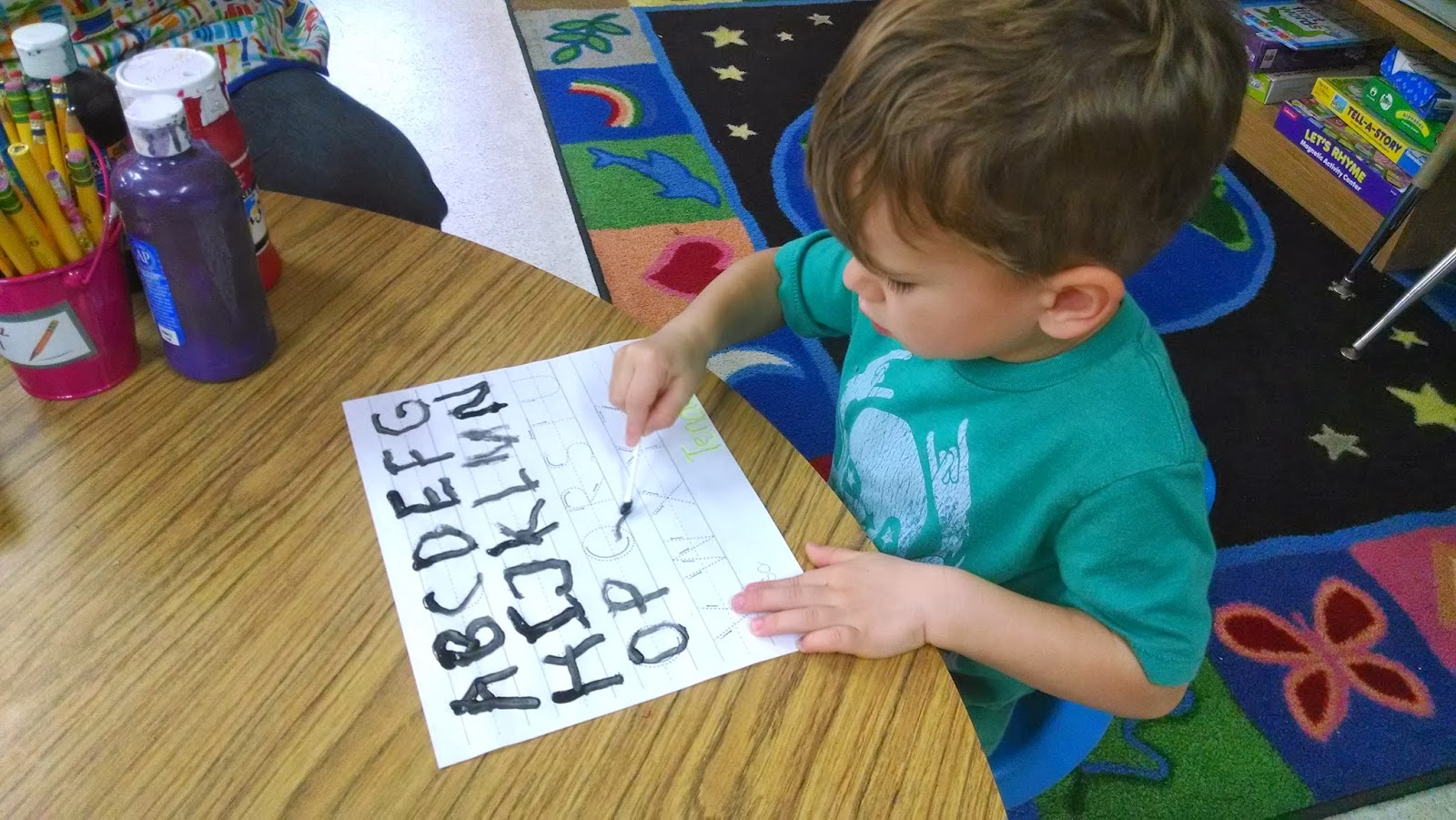 Preschool For Rookies Letter Of The Week Qq