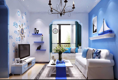 Inspirasi Rumah Nuansa Biru Terbaru