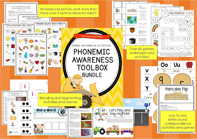 https://www.teacherspayteachers.com/Product/Phonemic-Awareness-Toolbox-BUNDLE-Small-Group-Centers-Games-and-Activities-478316