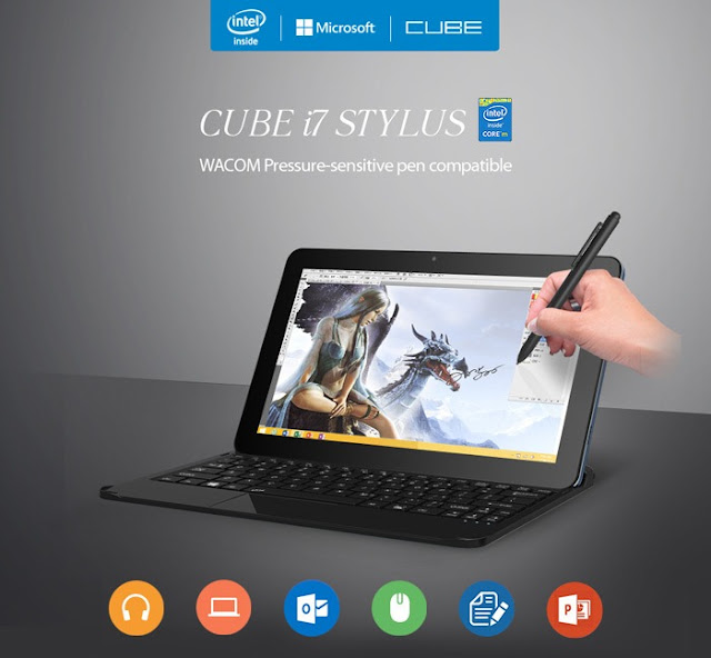 caratteristiche tablet cube i7 stylus