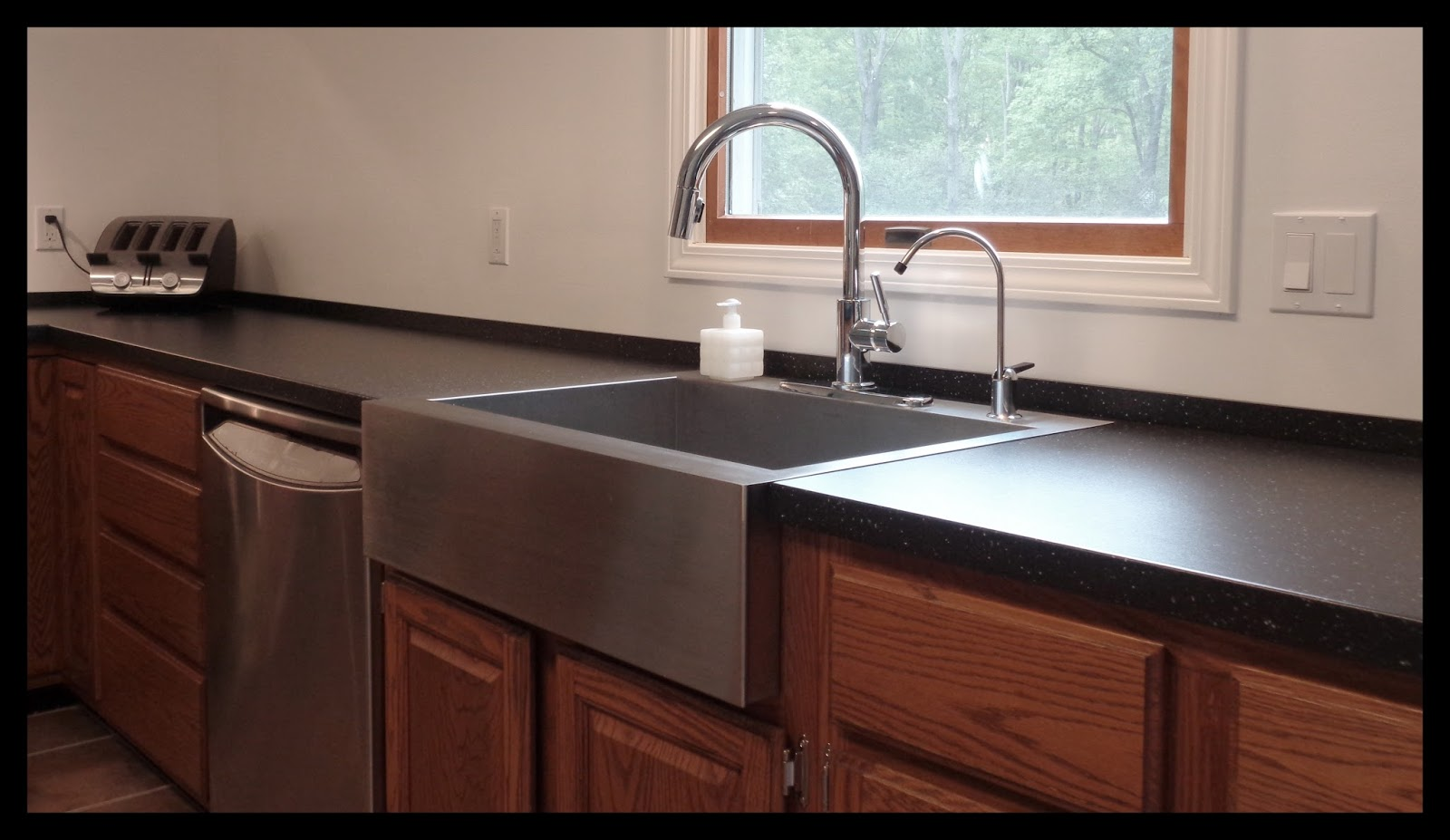 ikea kitchen counters pulls and handles for cabinets manic maker countertop backsplash hack