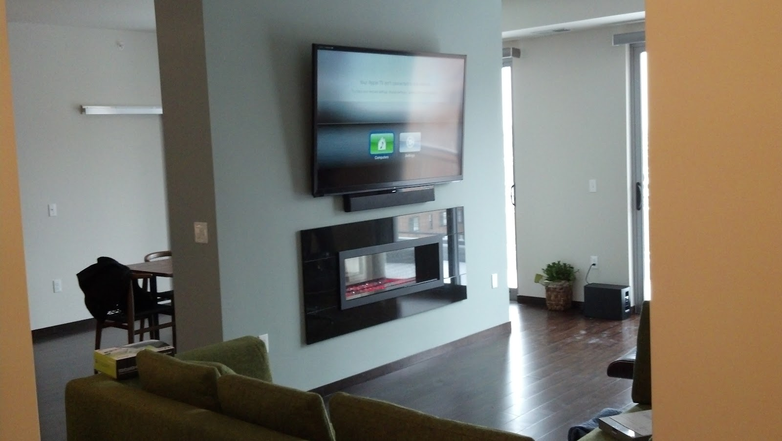 home entertainment fireplace living room furniture black cream and silver ideas 7 s 1 theater tv installs the do don ts of mounting a above