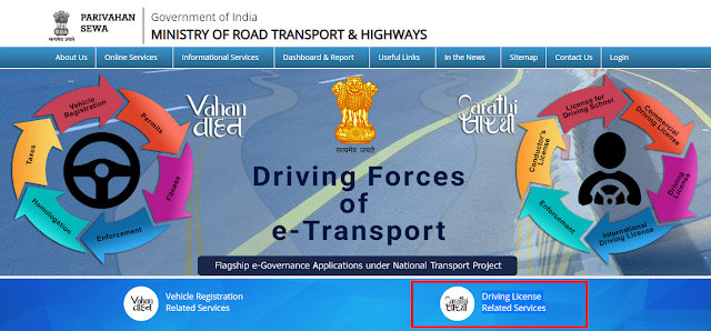 Apply Online Driving Licence Prosses | Check Status
