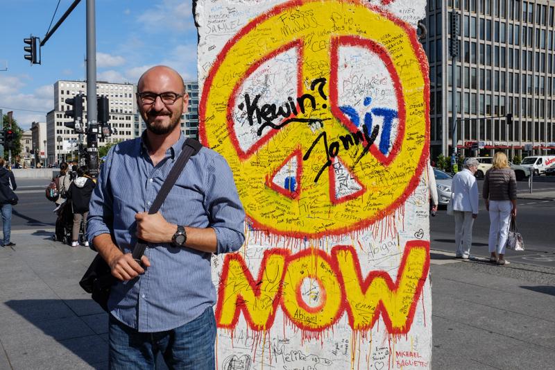زيارة جدار برلين