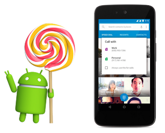 Android 5.1: Unwrapping a new Lollipop update