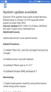 Infinix Rolls Another Update for the Note 4 Pro; Clears all Bugs