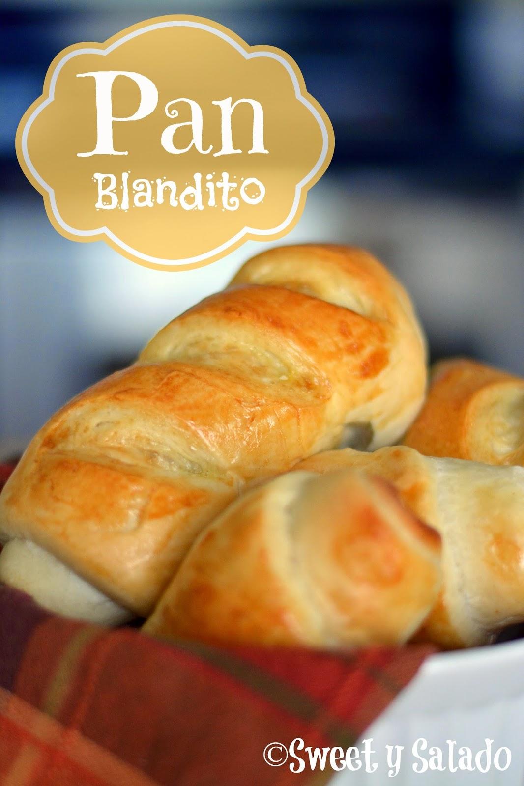 Pan Blandito Sweet Y Salado