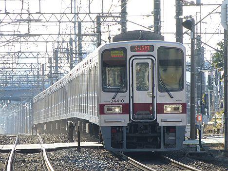 【地味に廃止?】東武東上線の快速急行 小川町行き30000系の新旧表示を比べたら?