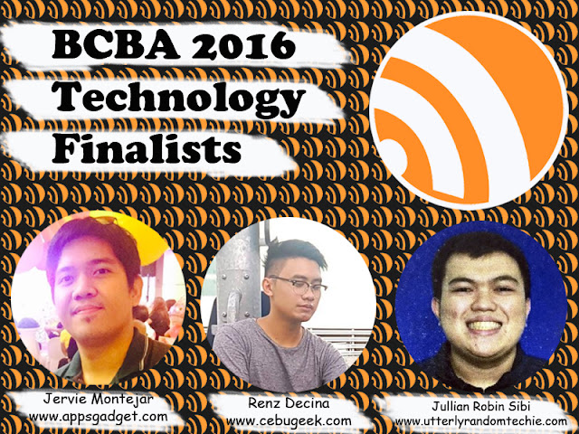 BCBA2016 Finalists of Technology Niche