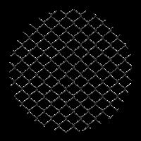 círculo de arame em png