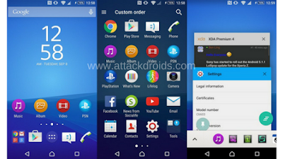 ROM XPERIA Z5 FOR ANDROMAX A