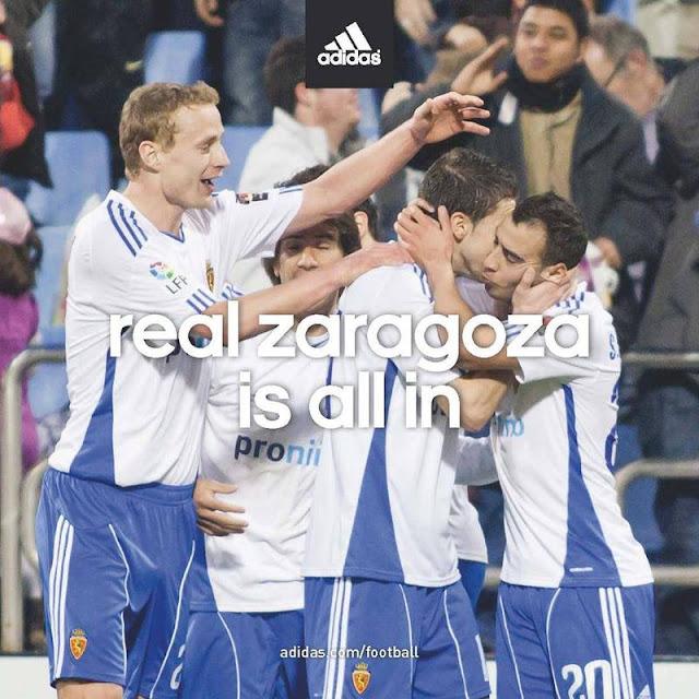 Ya es oficial: adidas vestirá al Zaragoza
