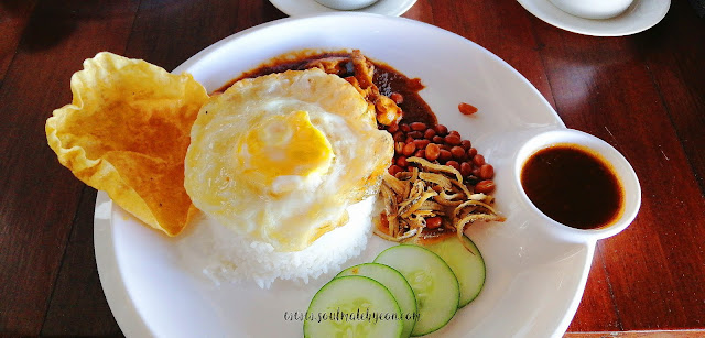 Nasi Lemak Special; Ala Carte Breakfast Menu; Kokol Haven Resort