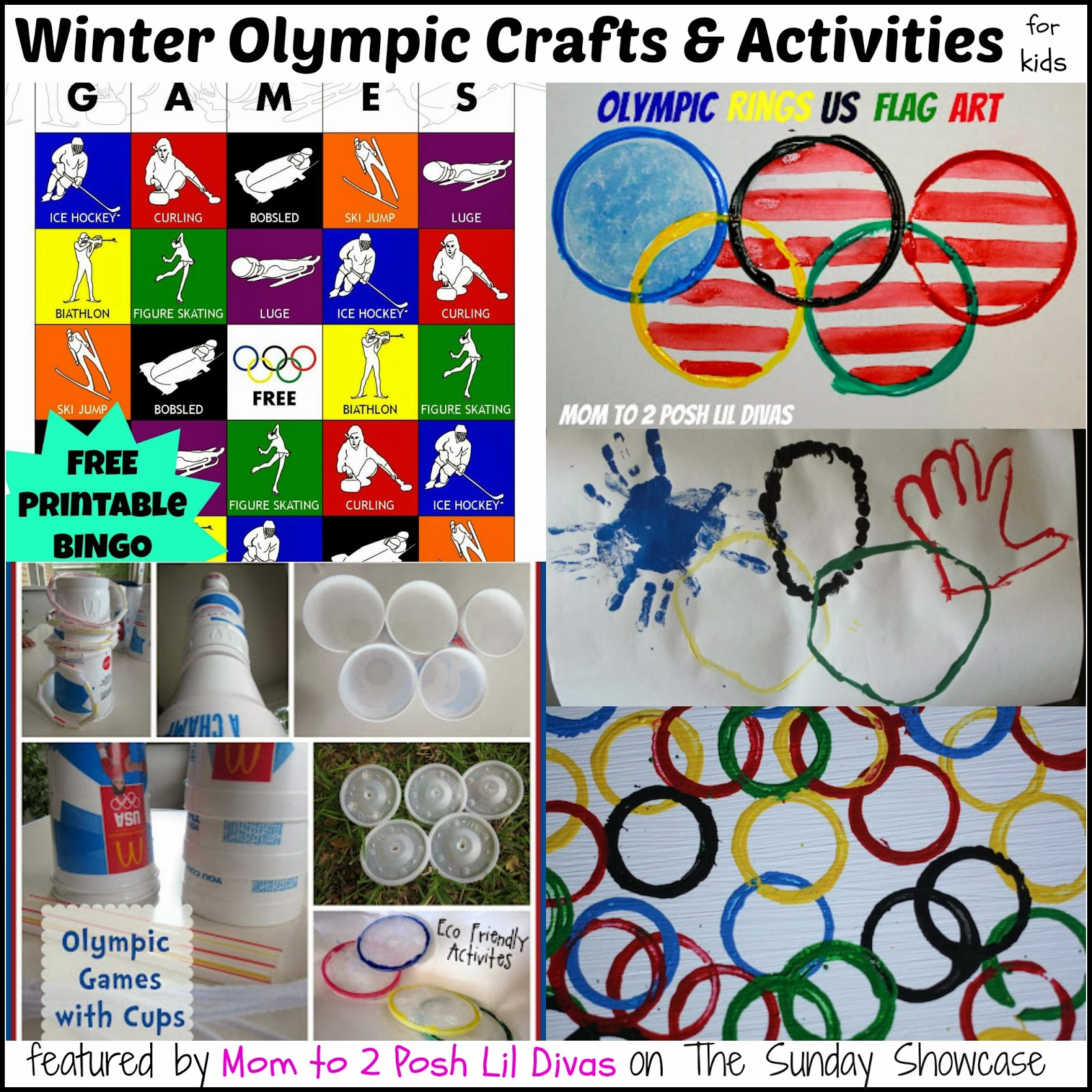 Olympic Themed Kids Activities That Were Shared On Last Week S Linky
