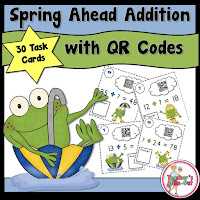 Spring Ahead Addition using QR Codes