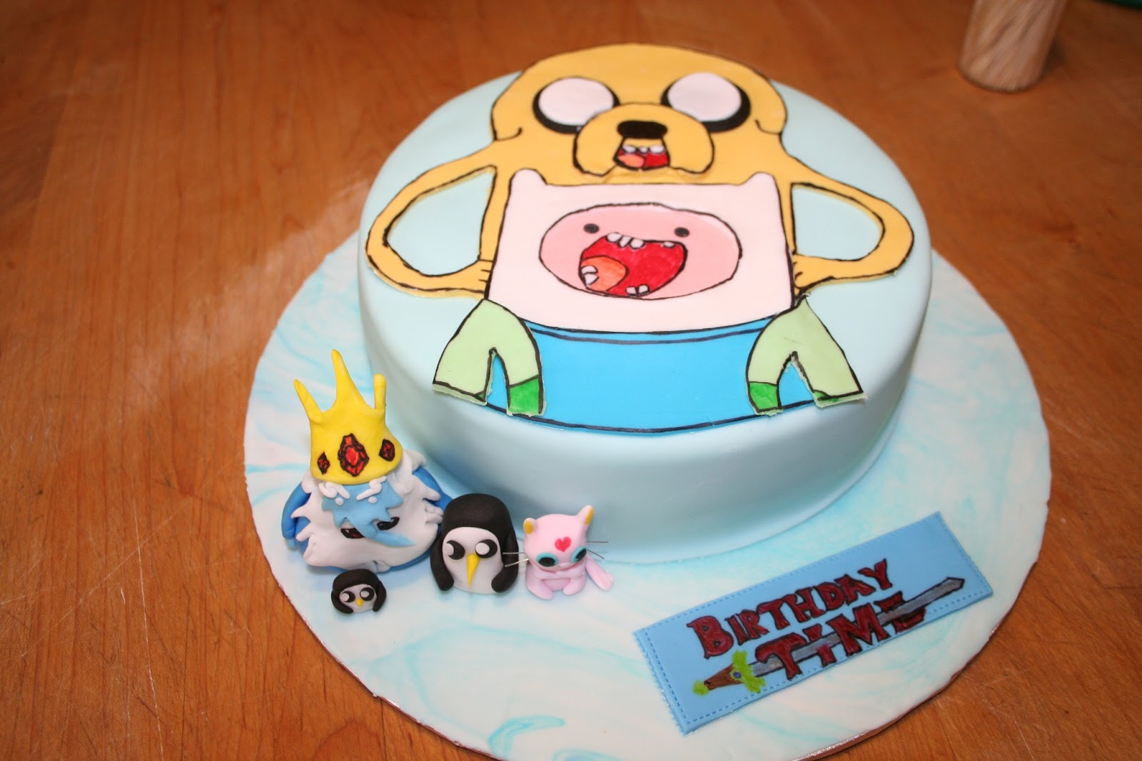 birthday time with finn and jake carpe cakem seize the cake