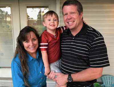 Jim Bob and Michelle Duggar with Marcus Duggar