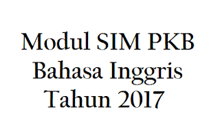 Download Modul SIM PKB IPA