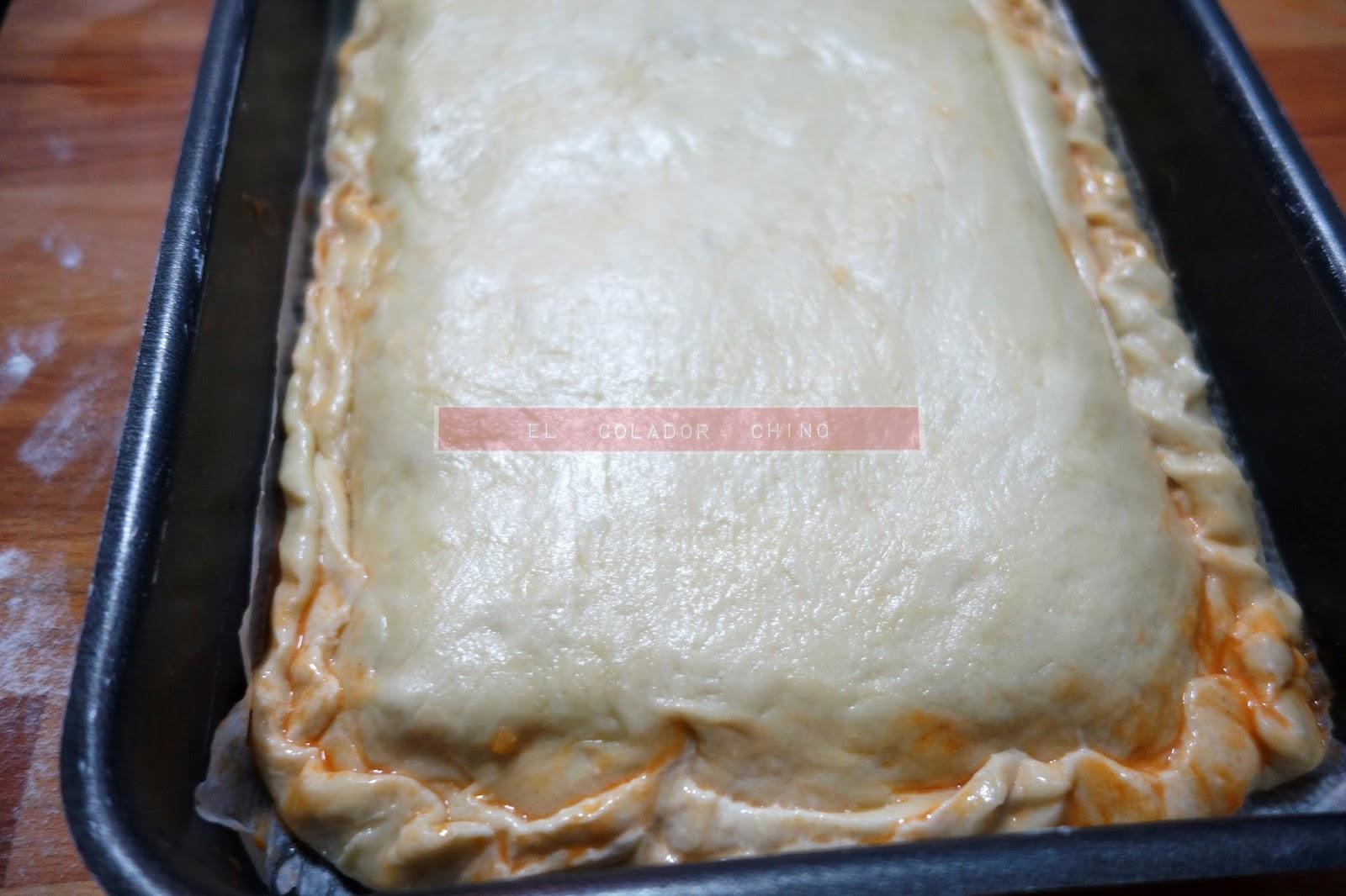Receta de empanada gallega