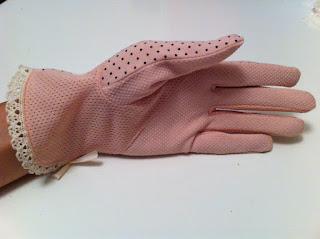 pudra pembe eldiven nişan eldiveni nikah eldiveni