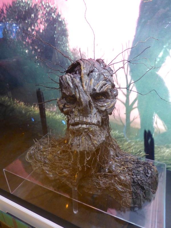 A Monster Calls tree monster face model