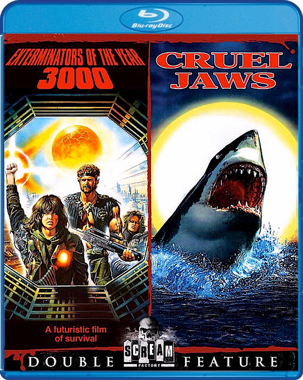 Blu-Ray And Dvd Covers Scream Factory Double Feature Blu -7941