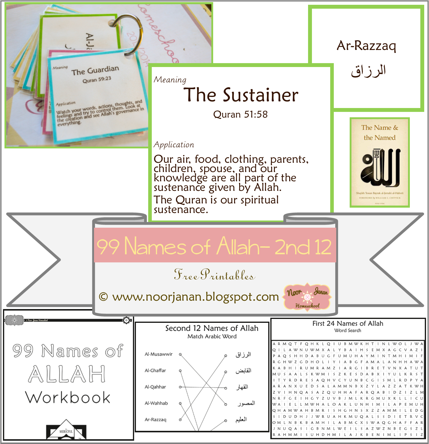 Noor Janan Homeschool Counting The Days To Ramadan With