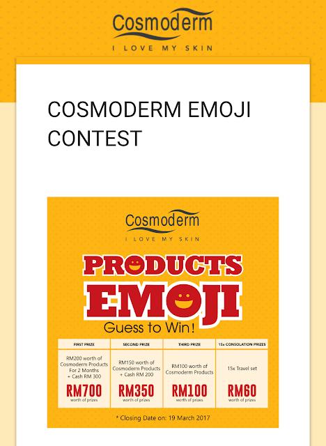 cosmoderm emoji contest 1