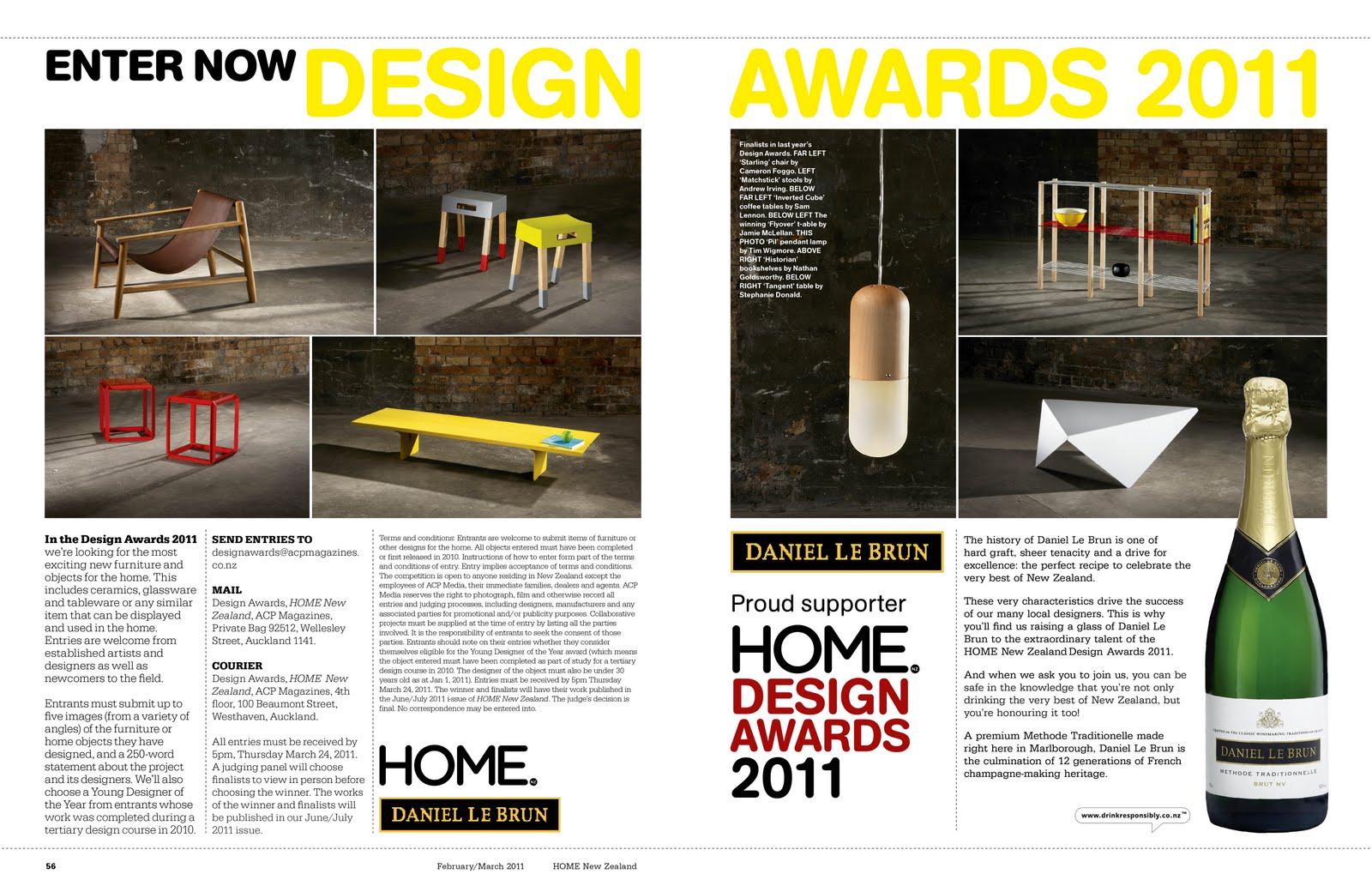 ART+OBJECT NEWS: Home Magazine Design Awards 2011 Function