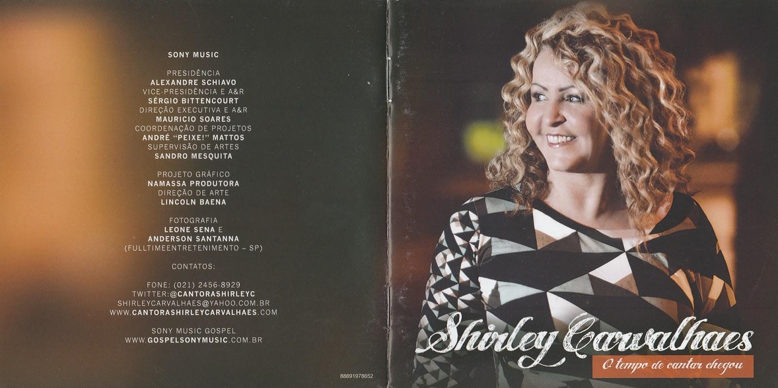 cd o tempo de cantar chegou da shirley carvalhaes