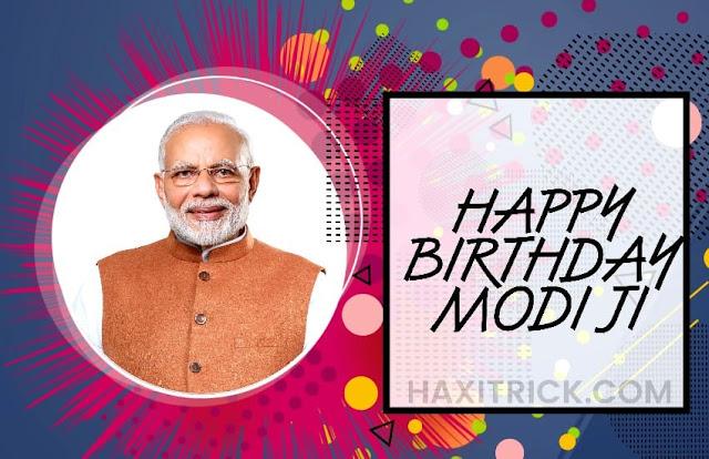 Happy birthday Prime Minister Narender Modi Wishes Images