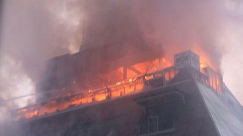 Dieciocho muertos al incendiarse un gimnasio