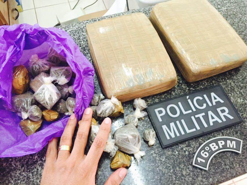 PM e Serviço de Inteligência apreende grande quantidade de droga em Chapadinha.