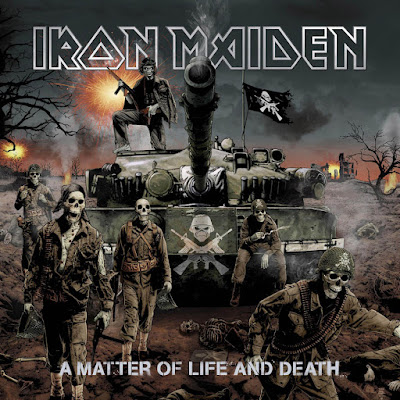 A Matter of Life and Death album cover