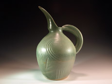 Bird Pitcher by Lori Buff