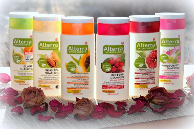 Test szamponów naturalnych Alterra z Rossmanna. Co o nich sądzę?