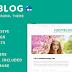 JudyBlog Responsive Elegant Blog Drupal Theme